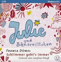 http://www.amazon.de/Julie-Schneewittchen-Schlimmer-gehts-immer/dp/3401264079/ref=sr_1_1?s=books&ie=UTF8&qid=1375917885&sr=1-1&keywords=cd+julie+und+schneewittchen