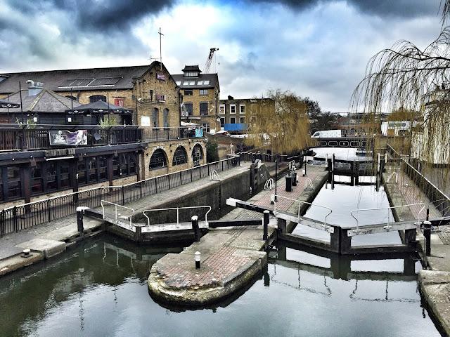 Camden Town Camden Market Kanal Schleuse