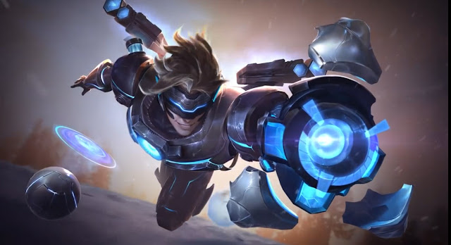 League of Legends Pulsefire Ezreal Animated Live Wallpaper