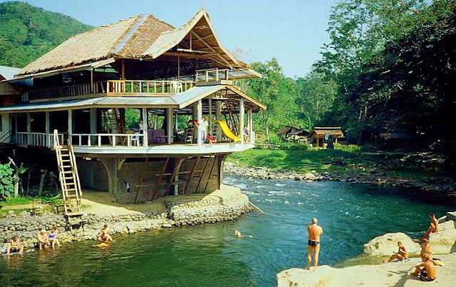 Bukit Lawang tempat wisata di Medan yang wajib dikunjungi