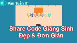 Share Code Giáng Sinh Đẹp Và Đơn Giản