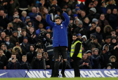Giroud, Chelsea Pilihan Sempurna, Merebut Titel Juara Inggris