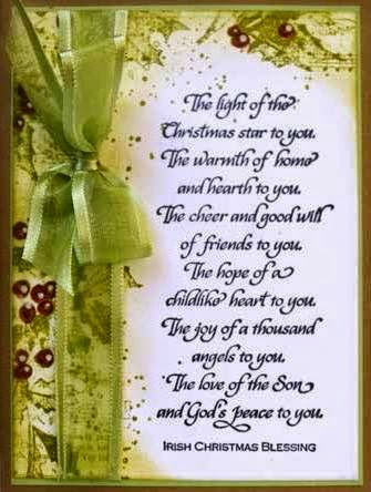 Irish Christmas Blessing.Elder Andrew Penman S Adventures In The Scotland Ireland