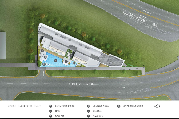 The Rise @ Oxley Residences Site Plan