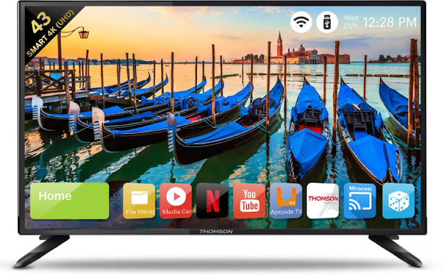 Thomson LED Smart TV 43-inch (43TM4377) specifications