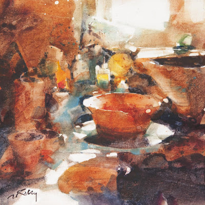 Marc Folley watercolour