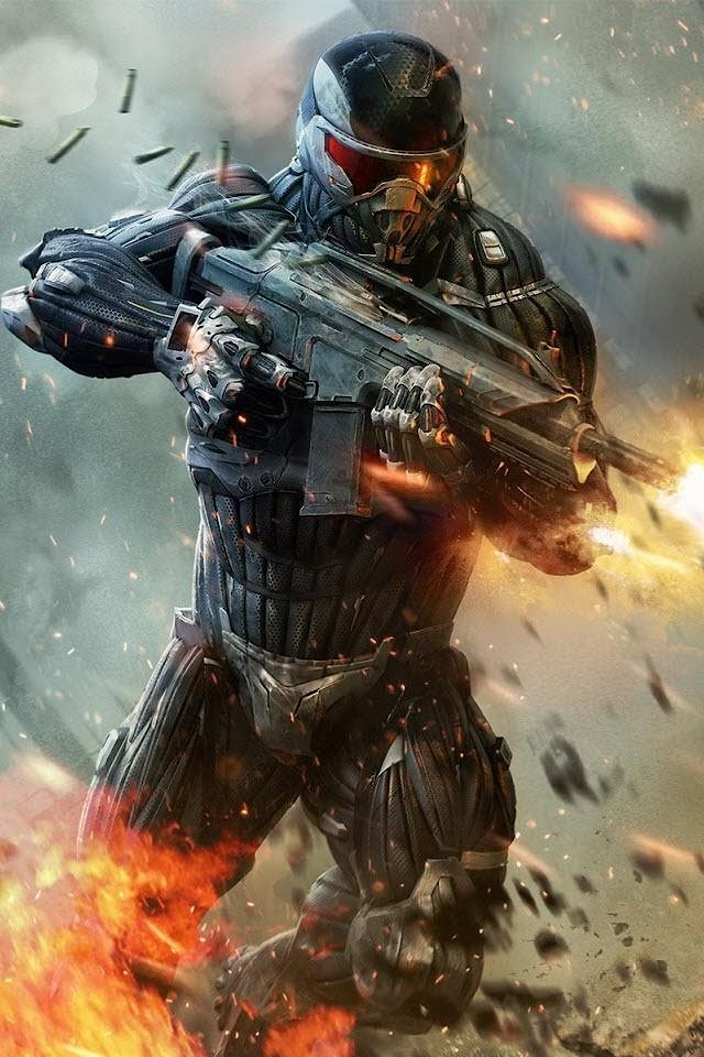 Crysis  Galaxy Note HD Wallpaper
