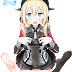Tags: Render, Barefoot, Blonde hair, Feet, Kantai Collection, Prinz Eugen, Skirt, Stockings, Thigh Highs, Twintails