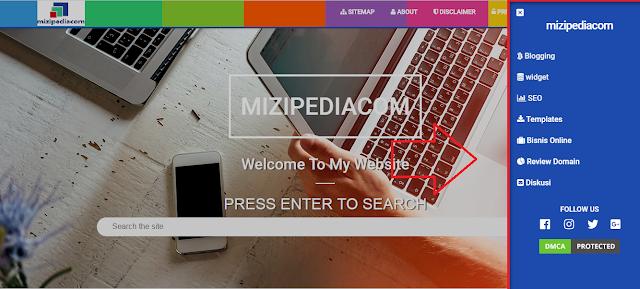Cara Membuat Slide Menu ala AMP Sidebar Di Blogger