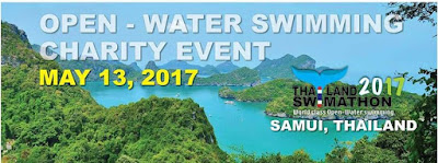 Open water swimming event between Koh Samui and Koh Phangan, Saturday 13th May 2017