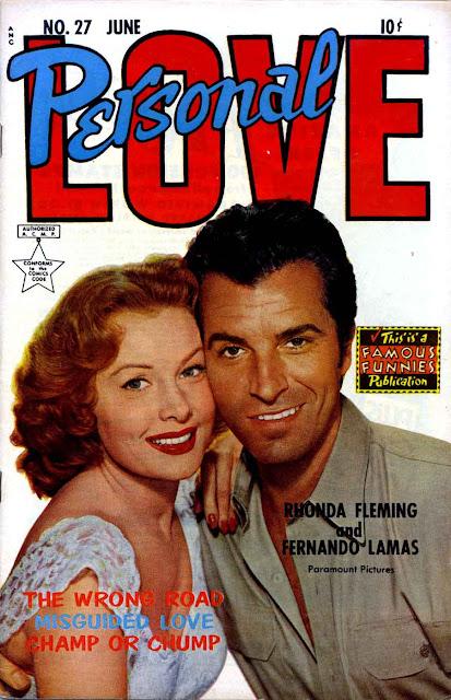 Personal Love v1 #27 Lorenzo Lamas romance comic book photo cover