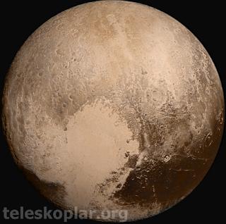 plüton cüce gezegeni ve teleskop gözlemi
