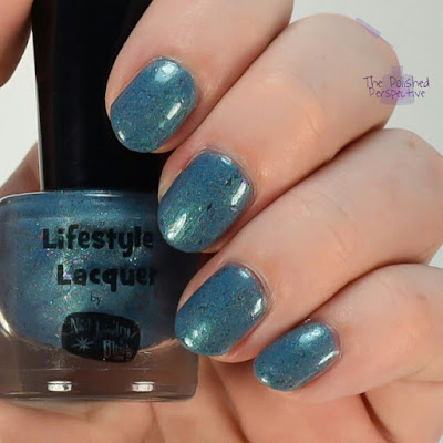 Lifestyle Lacquer We're All Mad Here swatch