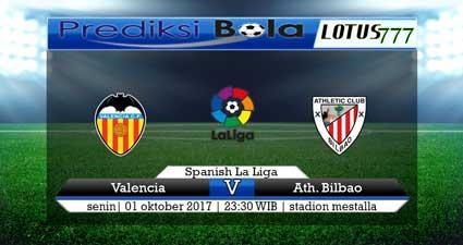 Prediksi pertandingan Valencia vs Athletic Bilbao 1 Oktober 2017