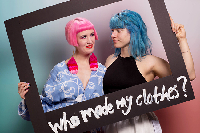 Fashion Revolution, Sustainable fashion, who made my clothes