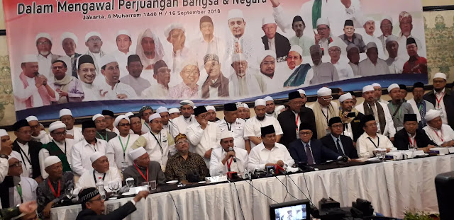 GNPF-U: Kami Tak Minta Jabatan Apapun dari Prabowo-Sandi