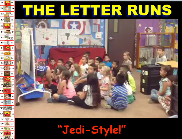 "Secret Stories® Phonics Secrets—  The Letter Runs— ""Jedi-Style"""