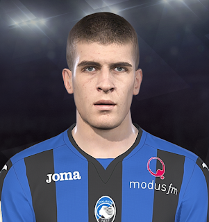 PES 2018 Faces Gianluca Mancini by Prince Hamiz