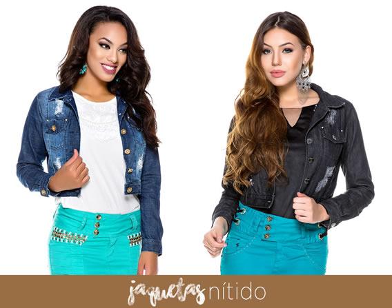 Jaquetas Jeans da Nítido