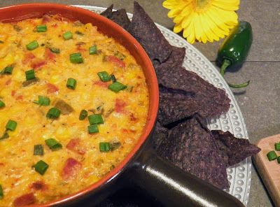 Corn and Chourico Dip