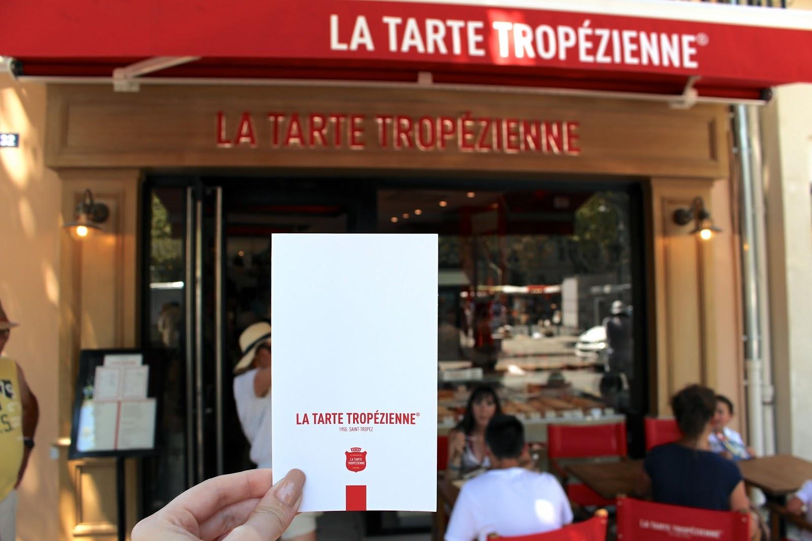 La Tarte Tropézienne st tropez review