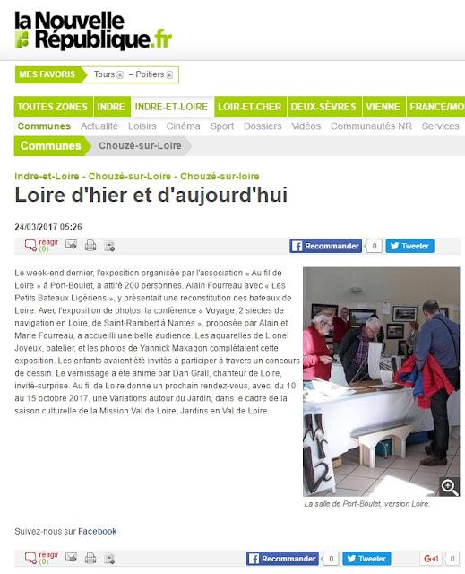 Loire d'hier et d'aujourd'hui sur la nouvelle république