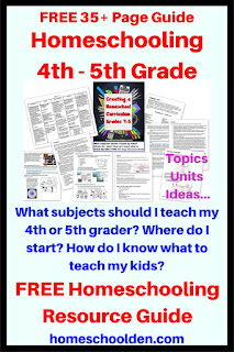 http://homeschoolden.com/2017/03/17/creating-your-homeschool-curriculum-grade-4-5-free-resource-guide/