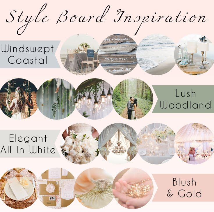 Styling Your Dream Wedding: Style Board Inspiration