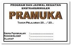 Program Dan Jadwal Kegiatan Ekstrakurikuler Pramuka SD SMP SMA SMK