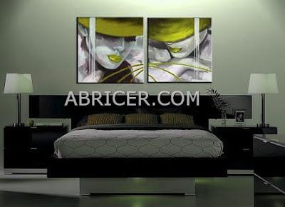 http://www.abricer.com/cuadros/figuras/cuadros-dama-pamela-verde-pistacho-dormitorios-salones-1665.html