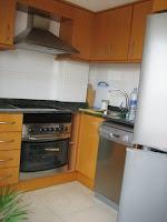 duplex en alquiler av de almazora castellon cocina