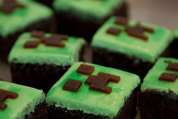 Candy Bar Cupcakes Minecraft Cupcakes Creeper