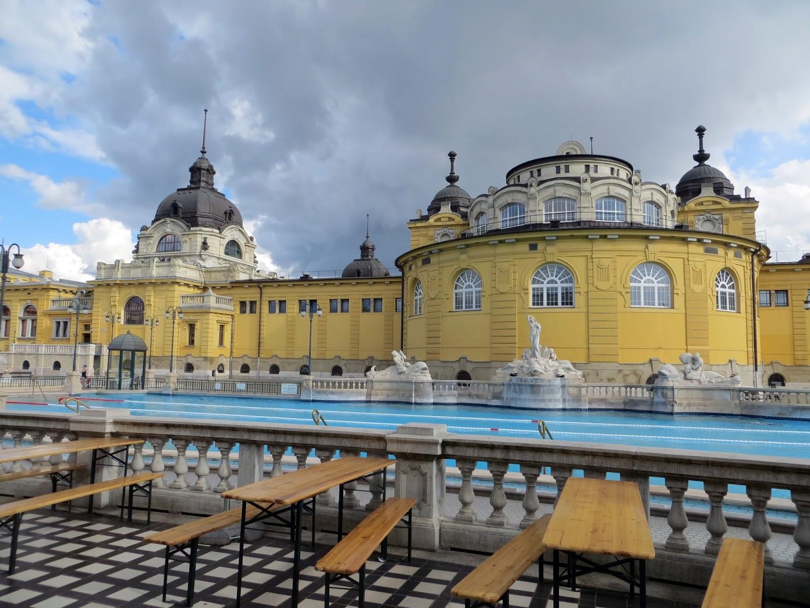 Budapest, photography, night time, architecture, travel, blog, adventure, exploration, Szechenyi Baths