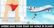 Ever Wonder What Happens To Your Poop In An Airplane Toilet? It's Actually Amazing