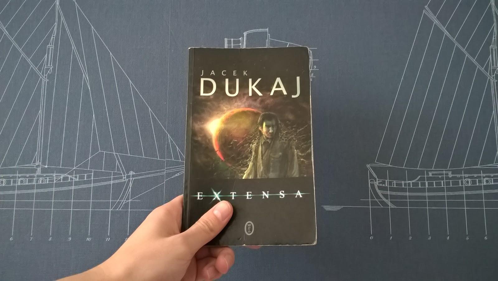 """Recenzja #6 """"Extensa"""" - Jacek Dukaj"""