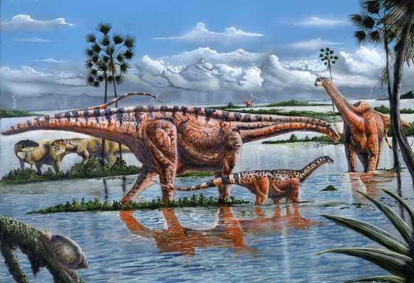 Amazonssauro (Amazonsaurus maranhensis)