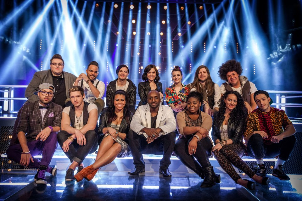 The Voice UK Series 2 Team Jessie