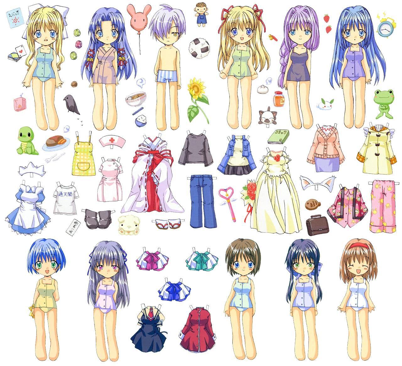 Paper Dolls - kiddies types on Pinterest | Paper Dolls ...
