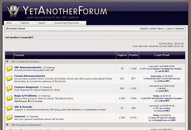 http://www.bestwindowshostingasp.net/go/Hosting-YetAnotherForumNET