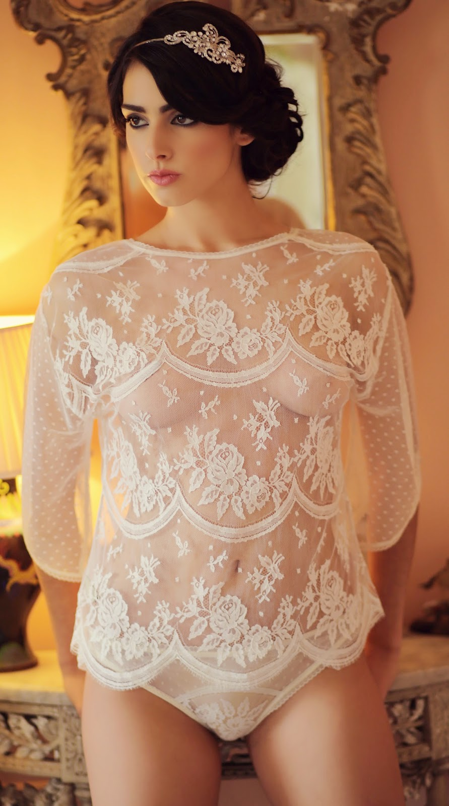 Shell Belle Couture - The Bridal Lingerie Collection