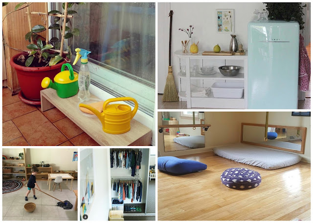 There is a wonderful Montessori community on Instagram, here are 5 inspiring Montessori spaces from Instagram.