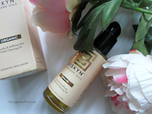 Review Siskyn Skincare Oils Camellia & Safflower Hot Cloth Cleansing Oil