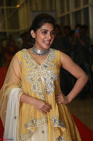 Nivetha Thamos in bright yellow dress at Ninnu Kori pre release function ~  Exclusive (15).JPG