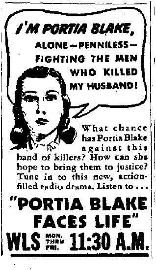 OTR Advertisements: Portia Faces Life (General Foods