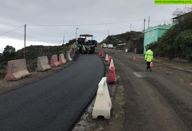 La Consejería de Obras Públicas y Transportes informa que se producirán cierres al tráfico en un tramo de la LP-2