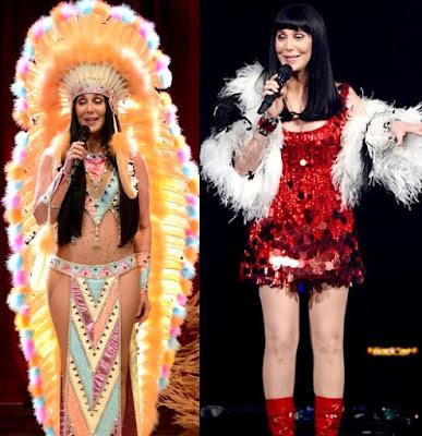 Fotos de Cher en el escenario