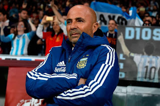 Argentina FA: Sampaoli's future to be decided by end of July