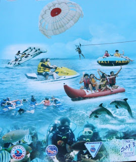 Menikmati Indahnya pantai dan laut di tanjung benoa Bali dengan Watersport murah