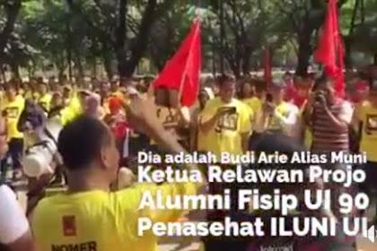 Aktivis & Alumni UI: Klaim Alumni UI Dukung Jokowi Hanya Pasukan Nasi Bungkus