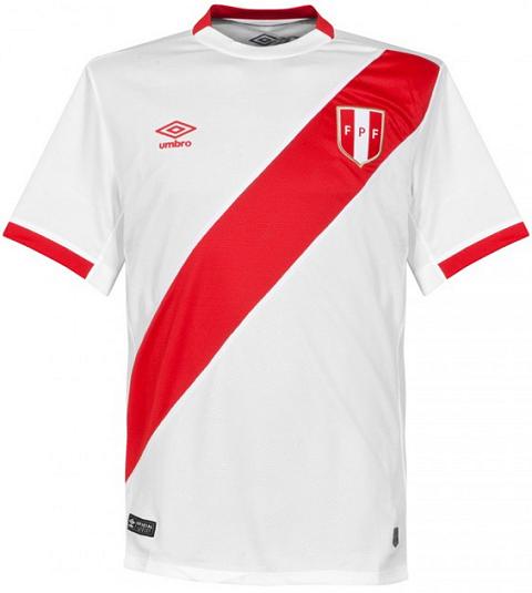 Umbro lança novas camisas da seleção do Peru - Show de Camisas 22d70cdcfdec3